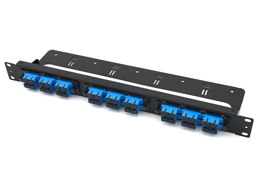 19 inch rack mount fiber patch panel SC 36 port
