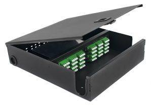 LGX wall mount fiber patch panel LC 96 port