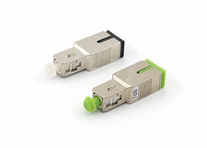 SC UPC & APC fiber optic attenuator metal type