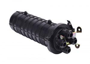 GJS-DM204 fiber optic splice enclosure 4 cable entry port