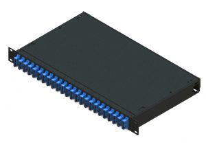 fixed 1U rack mount fiber patch panel SC 48 port