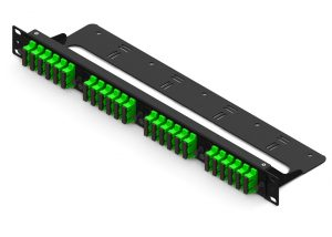 4-slot straight-through fiber patch panel