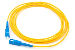 SC single-mode fiber optic patch cord